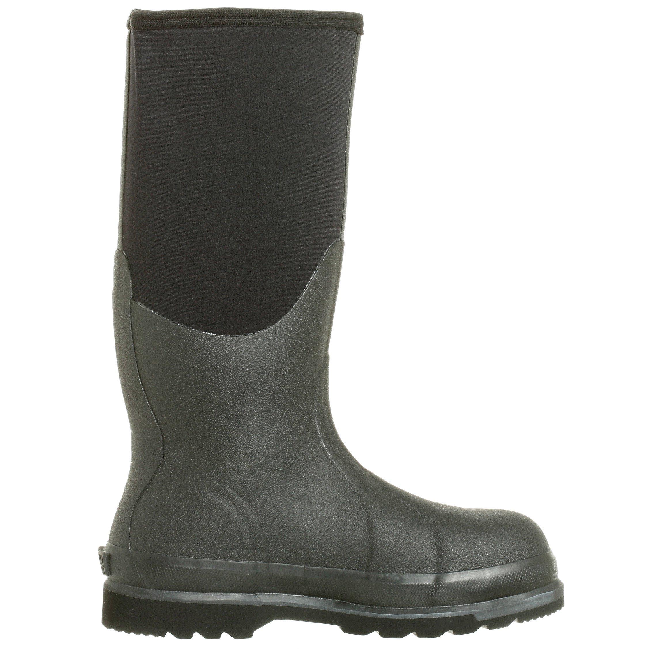 The Original MuckBoots Adult Chore Hi Boot Steel Toe,Black,Men's 12 M/Women's 13 M by Muck Boot (Image #6)