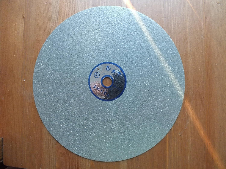 8 inch Diamond Lapidary Faceting Flat Lap Disc 1000 GRIT