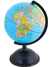Exerz 20cm Educational Swivel Globe - Diameter 20cm
