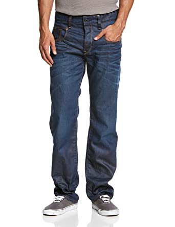G-Star Men\u0027s Radar Relaxed Jeans, Blue (Dark Aged), W30/