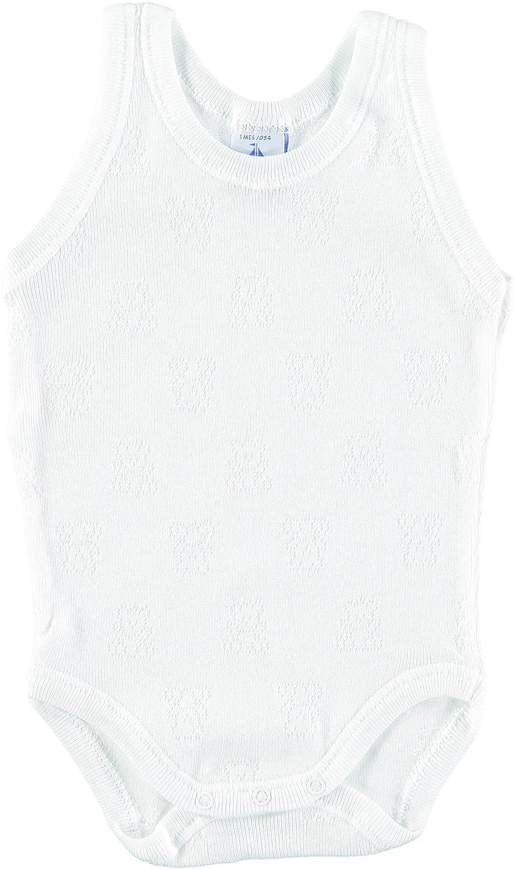 BABIDU Baby Girls' Body Tirante Sport Calado Ositos Christening Clothes 1115
