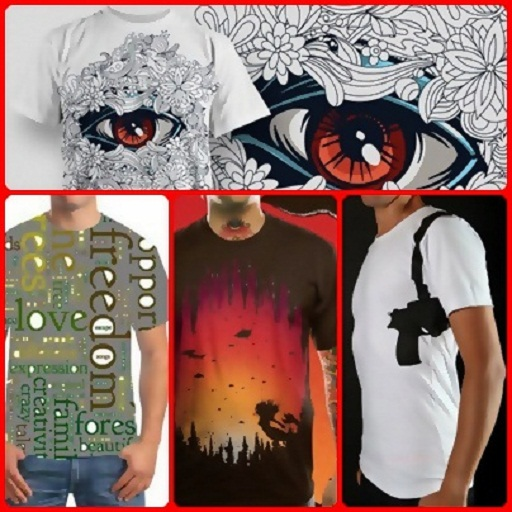 Design T Shirt App (Creative T Shirt Design Ideas)