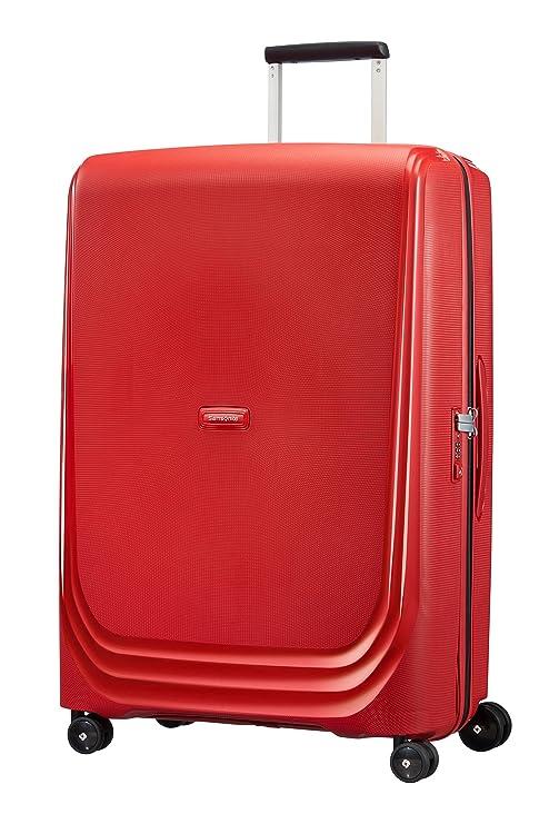 Samsonite Optic Spinner 75/28 Maleta, 115 litros, Color Rojo