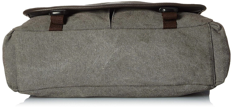 Florsheim Washed Canvas 16oz Messenger Bag Shoulder Bag