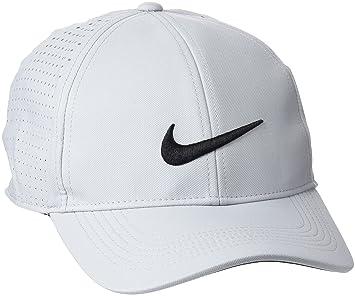 grey nike cap