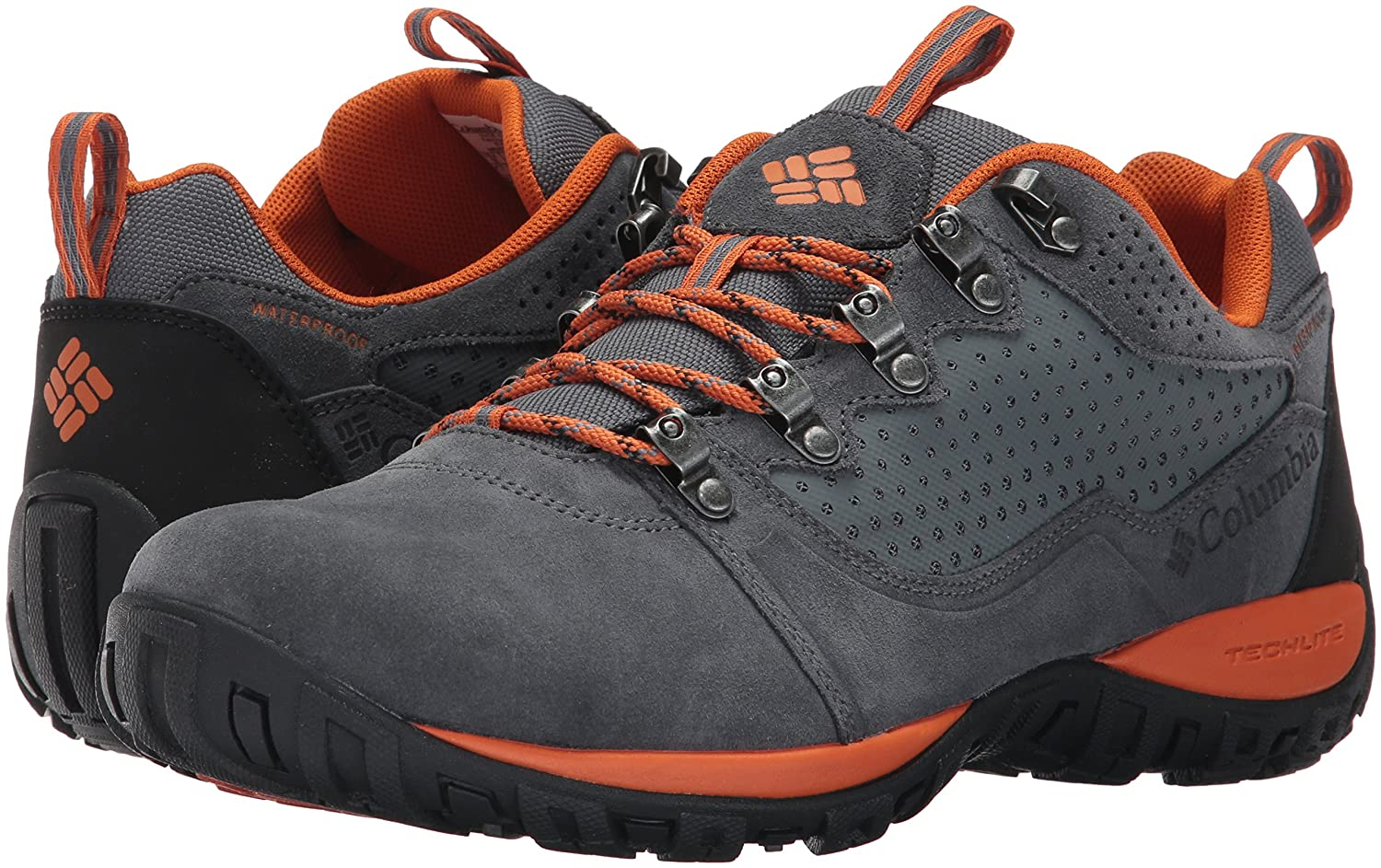 Amazon.com | Columbia Mens Peakfreak Venture Low Suede Waterproof Hiking Shoe | Hiking Shoes