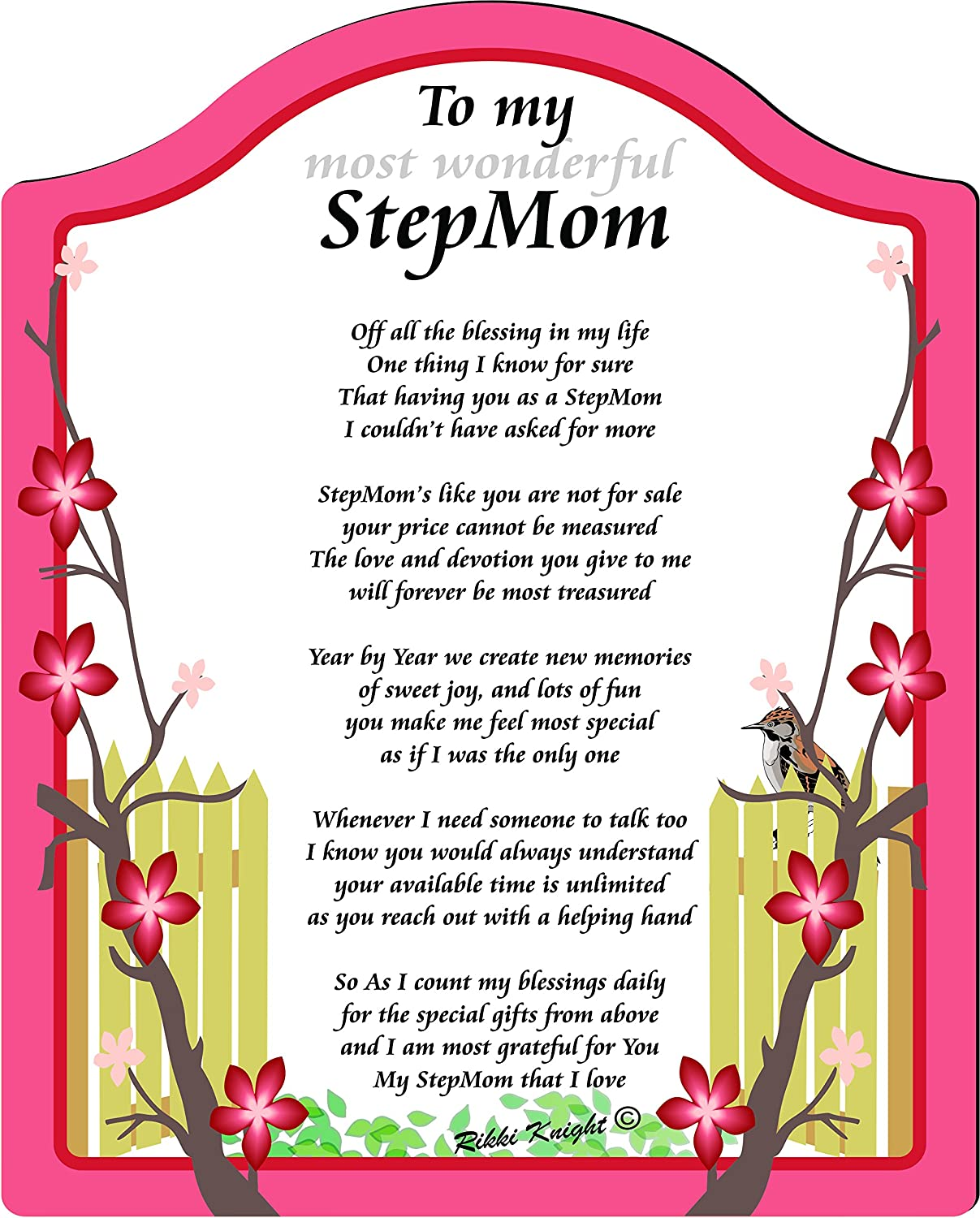 Poems For Stepmoms 1