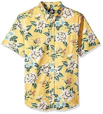 7744aeb24f2 Reyn Spooner Men s Weekend Wash Tailored Fit Hawaiian Shirt at ...