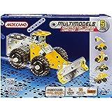 Meccano - 6024807 - Jeu De Construction - Chargeuse De Carrière - 5 Modèles