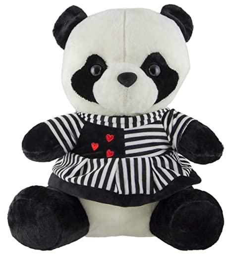 ca798312c5c0 Buy Dhoom Soft Toys, Panda Girl Soft Toy | Stuffed Panda Girl Soft Toy |  Stuffed Spongy Hugable Cute Panda Girl, 40CM Online at Low Prices in India  ...