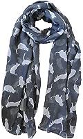 Grey Cat Scarf Ladies Fashion Scarves