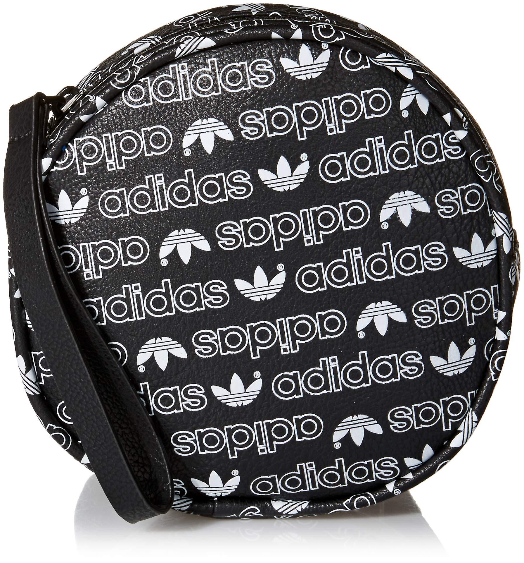 adidas Originals Women's Circle Waist Pack, Black Forum Monogram Small/Black, ONE SIZE by adidas Originals