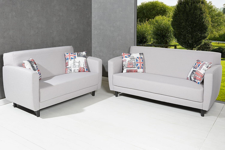 Designer Polster Sofaset aus 3er u. 2er Sofa Couch Sitzgruppe Set ...