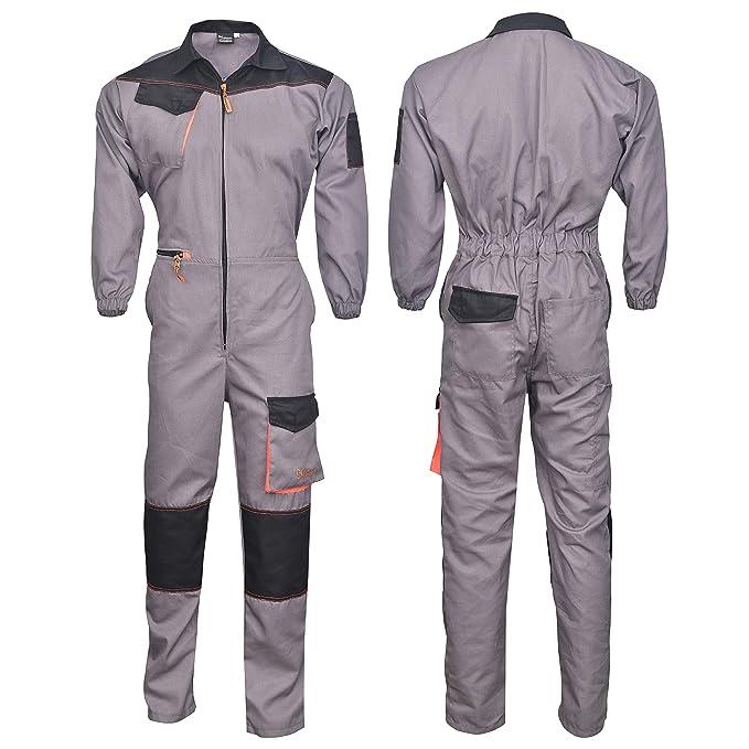 NORMAN - Tuta da lavoro - Uomo  Amazon.it  Abbigliamento 52d185f48de