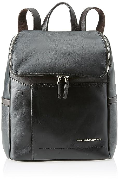 acquisto economico c466e a0294 PIQUADRO Cary Zaino, Donna, Nero: Amazon.it: Scarpe e borse