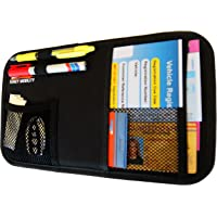 Fancy Mobility Car Sun Visor Organizer - Auto Accessories Document Holder - Car, Truck, SUV Registration & Insurance…