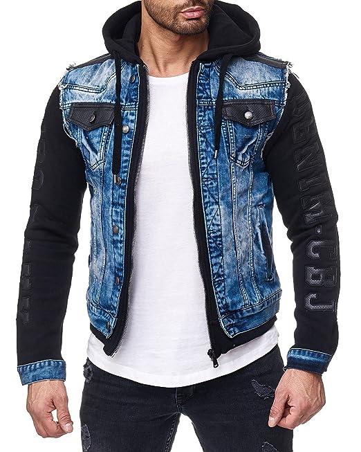 Cipo & Baxx Giacca Blu Uomo: Amazon.it: Abbigliamento