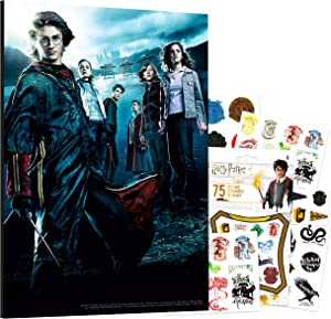 """Harry Potter Poster Office Decoration Bundle ~ 8"""" X 12"""" Harry Potter Room Wall Decor Harry Potter Party Supplies (Harry Potter and The Goblet of Fire)"""