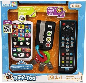 Cefa Toys Kit telefono,llaves y mando a distancia para niños (00425)