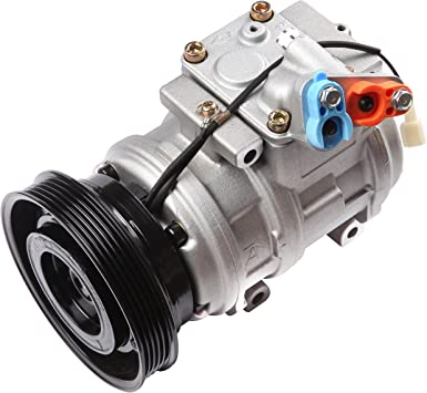 ECCPP Compatible fit for AC Compressor and A//C Clutch CO 10199RW Automotive Replacement Compressors Assembly for 1992-2000 Toyota Supra 3.0L Lexus SC300