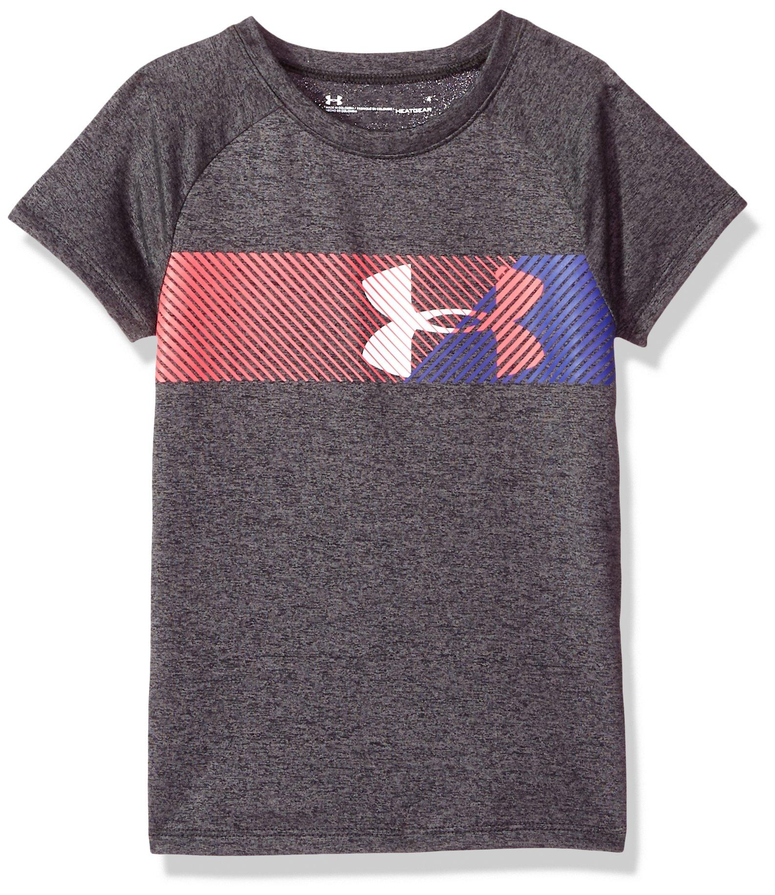 Under Armour Girls' Big Logo T-Shirt, Pitch