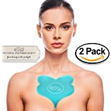 (2 Pads) Victoria Featherlight - Chest Pads For Decollete, Chest Wrinkles Prevention, Silicone Wrinkle Pad (New Packaging!)