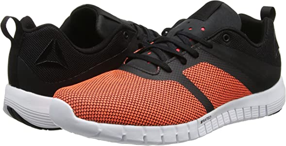 Reebok ZQuick Lite 2.0, Zapatillas de Trail Running para Mujer, Black White Coal Vitamin, 36 EU: Amazon.es: Zapatos y complementos