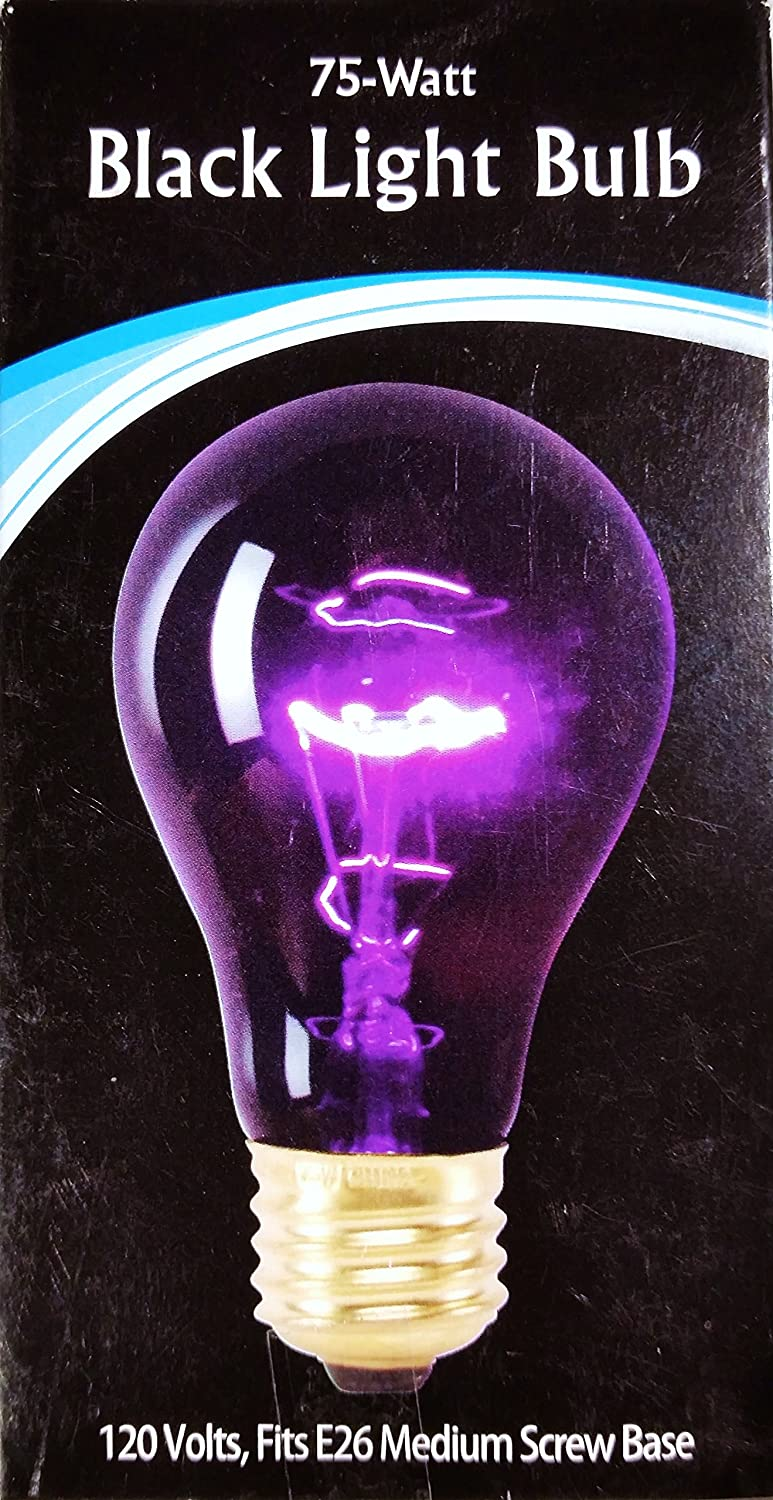 Black Light Bulb, 75Watt China 60-300