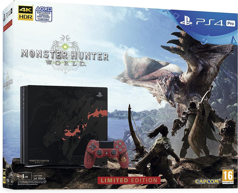 Playstation 4 Pro (PS4) - Consola - Edición Especial + Monster ...