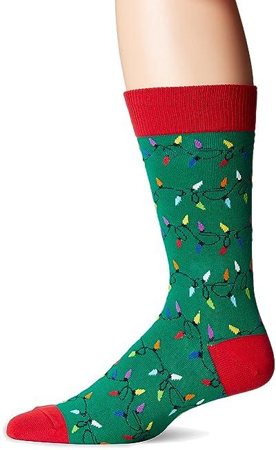Socksmith Men's Christmas Lights