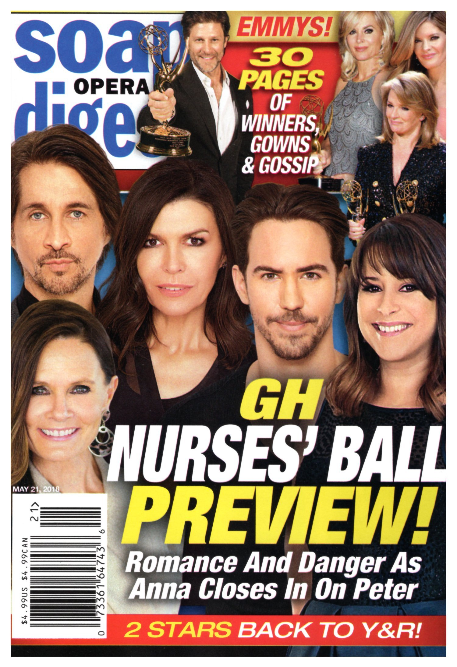 Soap Opera Digest Magazine - May 21, 2018 - Lynn Herring