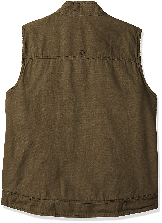 Wolverine Mens Big and Tall Porter Sherpa Lined Vest Wolverine Men/'s Sportswear W1204810BT