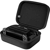 AmazonBasics - Funda de viaje y almacenamiento de juegos, para Nintendo Switch Negro,