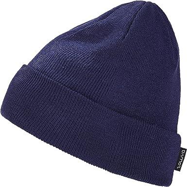 Beanie Baggy Hat Plain Knit Hat Winter Warm Cap Slouch Hats Ski Men Women Unisex