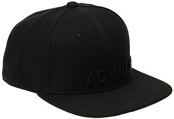 19bcdc83b4a adidas Men s AC Milan Anthem Cap - Black Victory Red S04 Craft Red ...