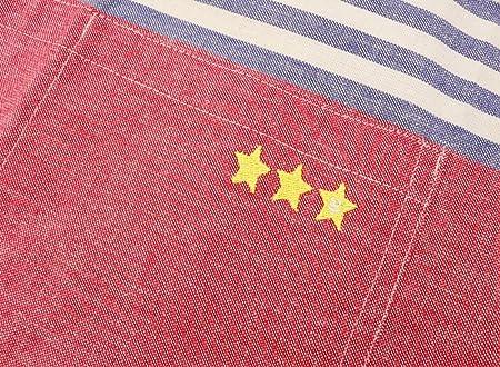 576bdb74ea6c7e Amazon|GV エプロン 子供用 三角巾付き ミシュラン キッズエプロン イエロー 539090|エプロン オンライン通販