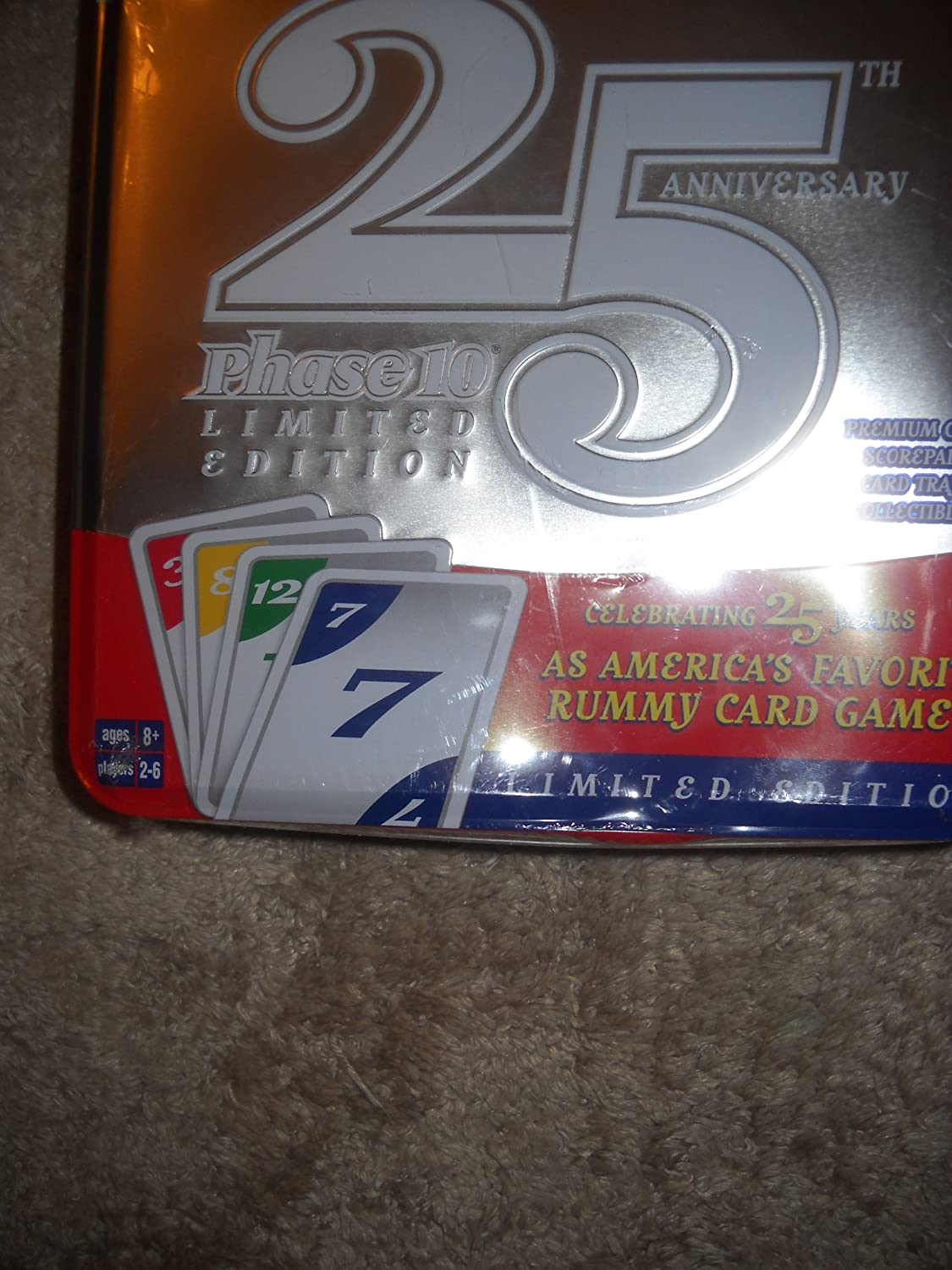 Phase 10 Deluxe 25th Anniversary Limited Edition In Tin Fundex