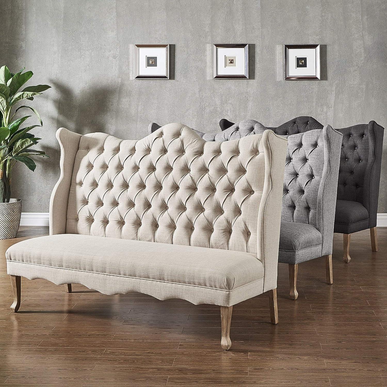 Amazon.com: Inspire Q Sawyer banco tapizado respaldo curvado ...