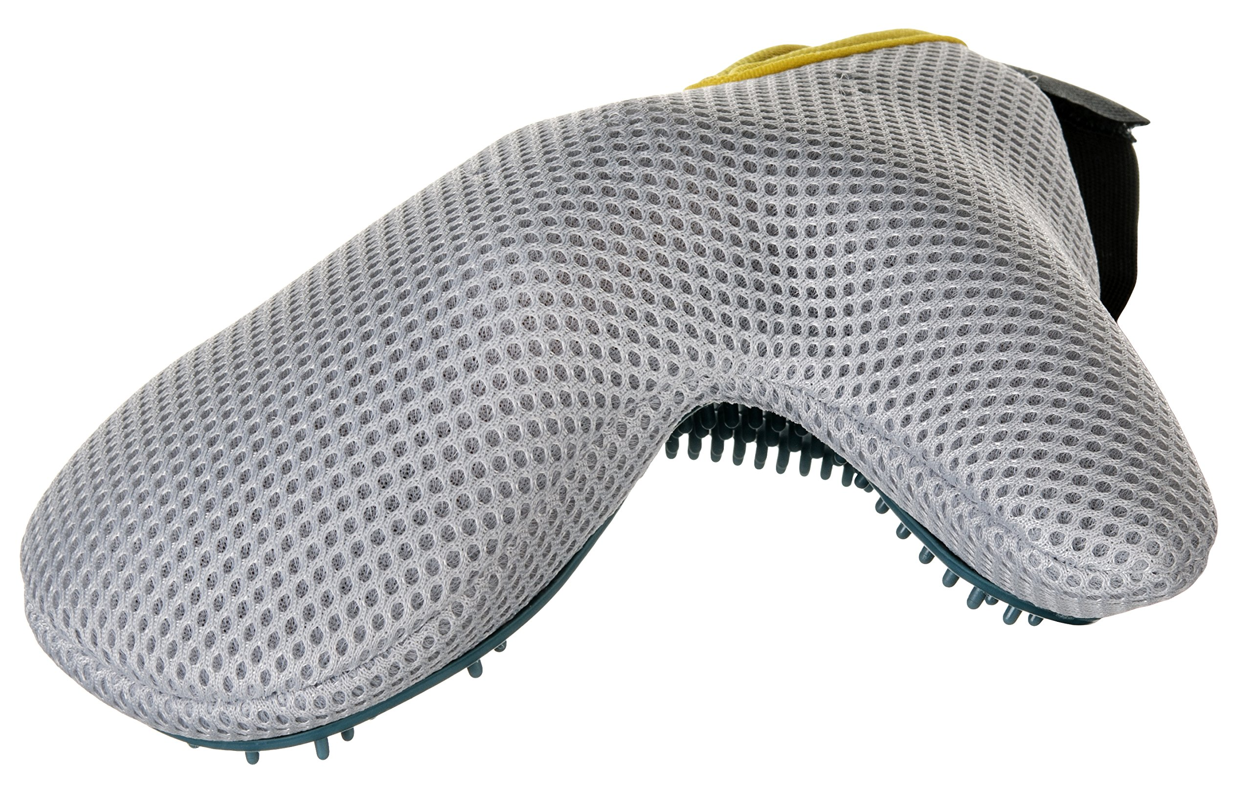 The Groomin' Glove - Pet Grooming Glove Brush and Bathing Mitt by BoundlessPets - Versatile Long and Short Hair Animal Fur Deshedding Tool and Massage Comb for Cats, Dogs, Ferrets, Horses & More