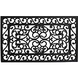 """Calloway Mills 103602439 Serendipity Rubber Doormat, 24"""" x 39"""""""