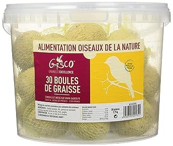 Gasco Boule de Graisse Seau de 30 pour Oiseau  Amazon.fr  Animalerie 5a620e54ac41