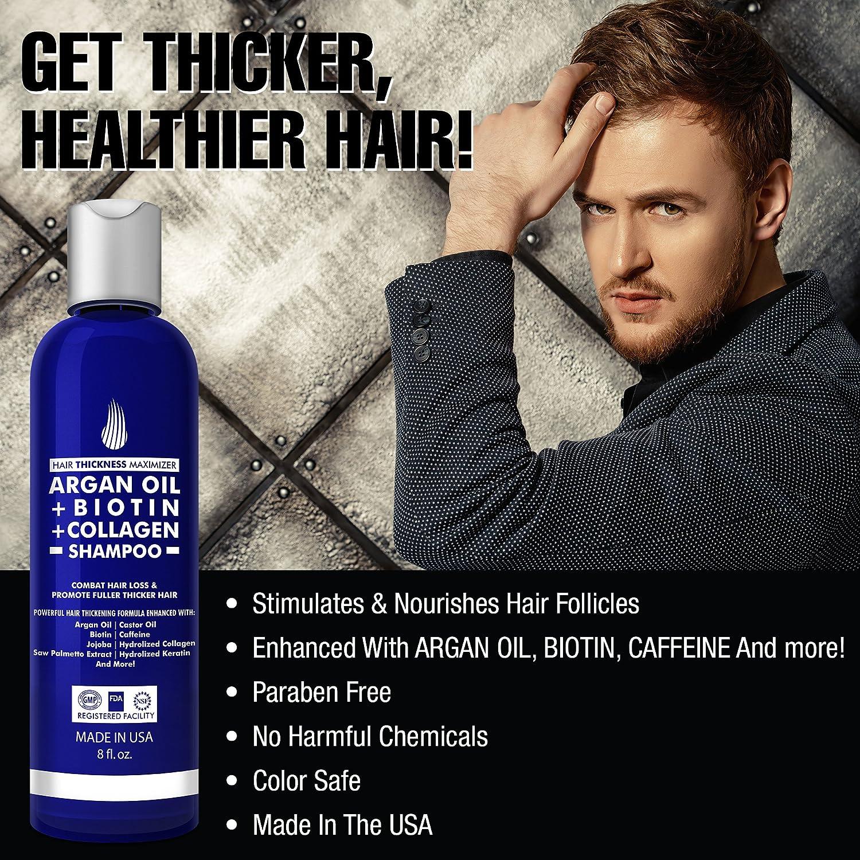 Amazon Argan Oil Hair Growth Shampoo For Men And Women By Hair