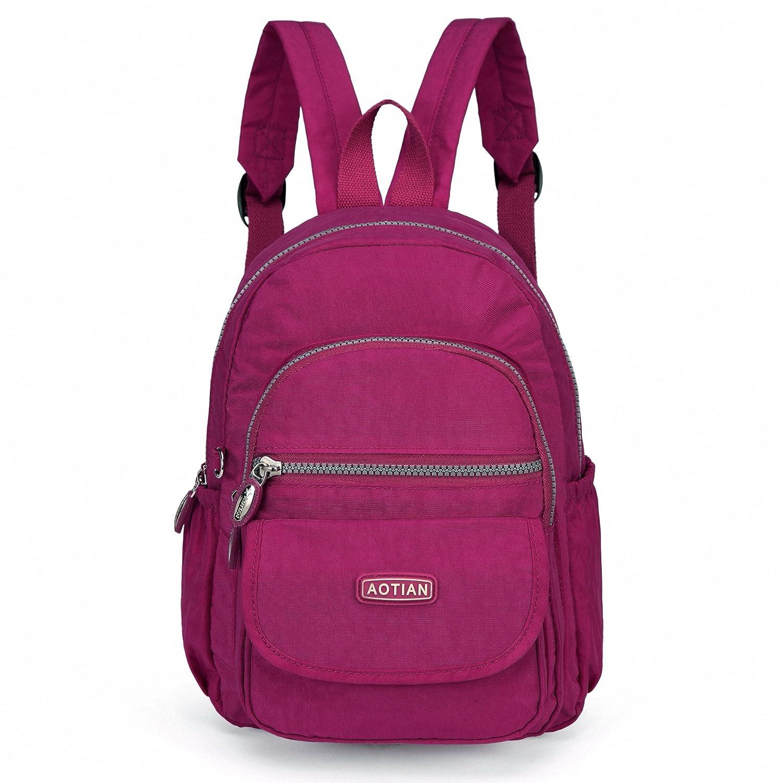 AOTIAN Mini Rucksack Für Mädchen Und Damen Leichtgewicht Kleine Lässiger Daypacks Tasche 7 Liter