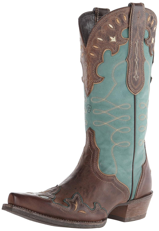 Ariat Women's Zealous Western Cowboy Boot B00NUIT4CO 7.5 B(M) US|Barnwood