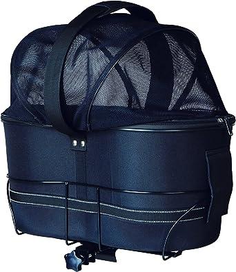 Trixie 13118 Bolsa para Bicicleta, 48 x 29 x 42 cm, Negro: Amazon ...