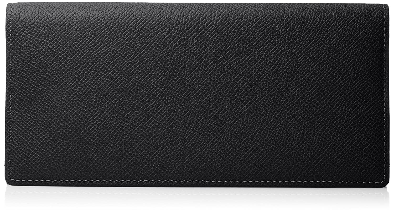 [ミカド] 長財布 ワープロラックス MK735016 B075T1CW75 ブラック ブラック
