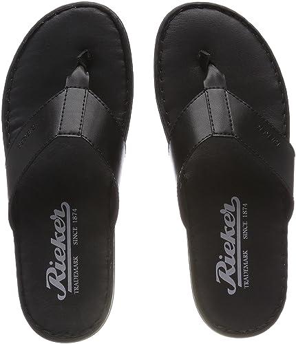 best service 55721 d5cdf Rieker Men's 21046 Flip Flops: Amazon.co.uk: Shoes & Bags