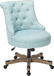 Office Chair in Light Blue