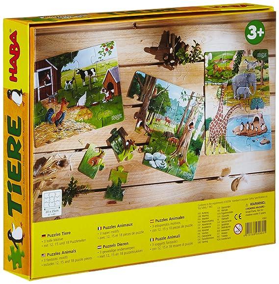 Puzzles Geduldspiel HABA-Puzzles Tiere Spiel Deutsch 2012