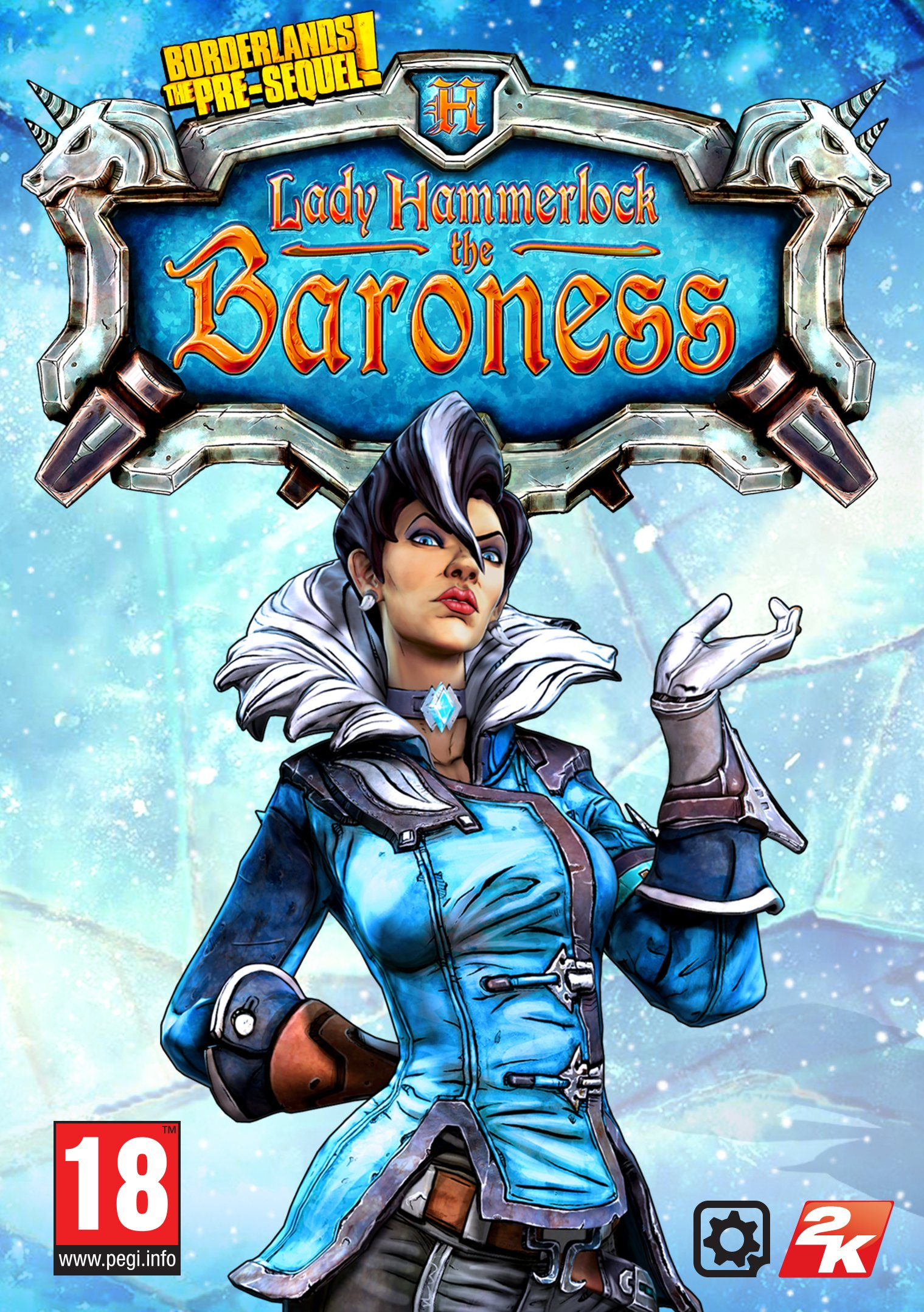 Borderlands: The Pre-sequel - Lady Hammerlock the baroness Pack [PC Code - Steam]